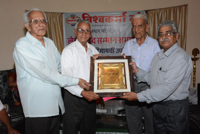 Writer's honour by Vishwakarma Today